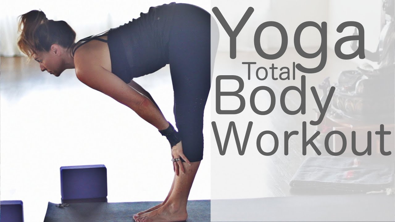 40 Minute Yoga Total Body Workout Twists | Fightmaster Yoga
