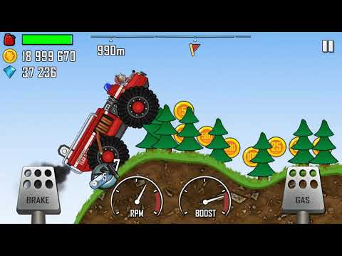 Download Hill Climb Racing 1 - Fire Truck, Ambulance, Police Car in FOREST Walkthrough Gameplay