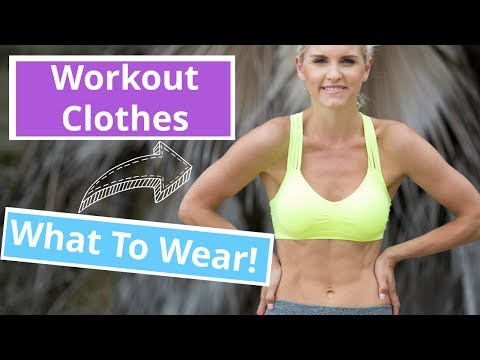 Best Workout Clothes to Wear  Rebecca Louise