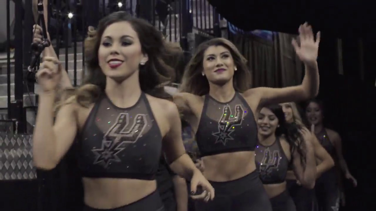 2017 spurs silver dancers: alexis f - youtube