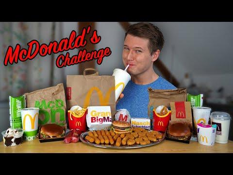 Ich Esse Das GESAMTE McDonald's Aktionsmenü (9.000+ Kcal)