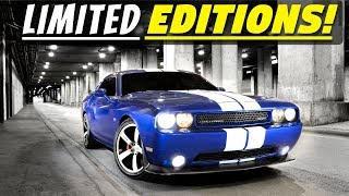 Rare & Limited Edition Dodge Challenger Models - Part 1