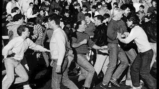 Football Hooligans - Darlington v Boro - 1986