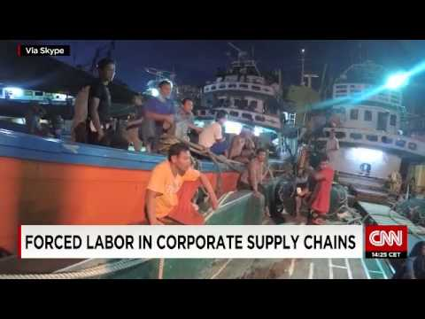 Slave labor in Asia Pacific fishing industry