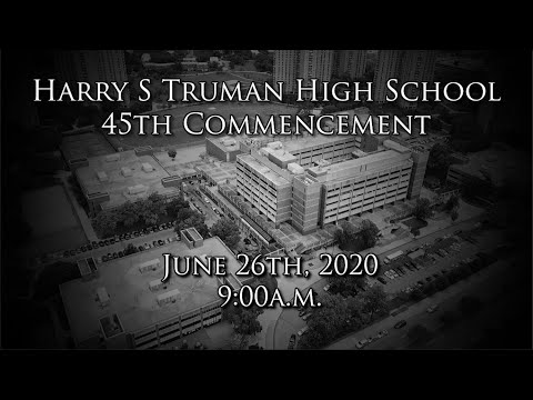 Harry S Truman High School 45th Commencement Ceremony