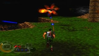 C: The Contra Adventure Game Review (1998) (PS1) (HD Gameplay)