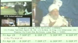 Question & Answers With Hazrat Mirza Tahir Ahmad 7{Urdu Language}