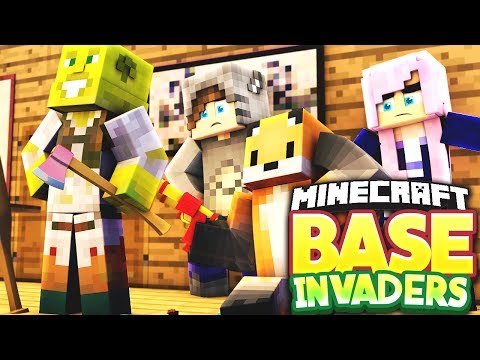 I FOUND LDSHADOWLADY'S HEAD! - Minecraft Base Invaders Challenge