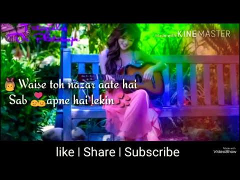 Bachpan Me Jise Chand Suna Tha | Whatsapp Status Song..