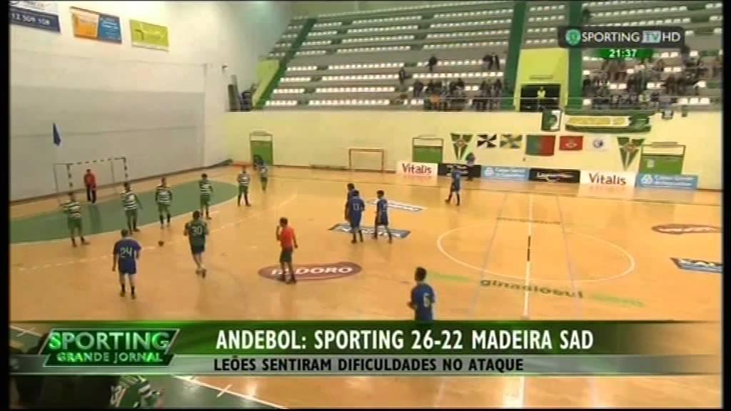 Andebol :: 20J :: Sporting - 26 x Madeira SAD - 22 de 2014/2015