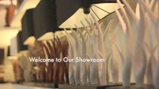 Asian Design House Showroom In Thailand Driftwood Lamps