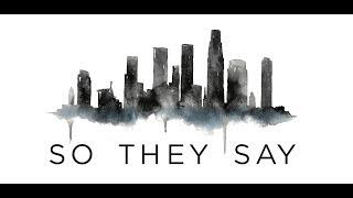 We Three - So They Say (Lyric Video)