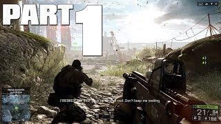 Battlefield 4: PC Walkthrough Part 1 - Baku