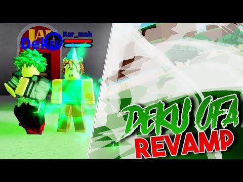 DEKU OFA REVAMP! | Boku no Roblox: Remastered | ROBLOX