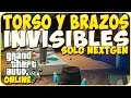 Gta 5 Online - Tener Torso y Brazos Invisibles - Truco Gta 5 Online