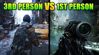 First Person Shooters vs Third Person Shooters
