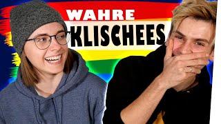 Klischees über Lesben und Schwule ft. Annikazion | Kostas Kind