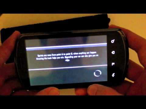 Huawei u8800 Need For Speed Shift gameplay