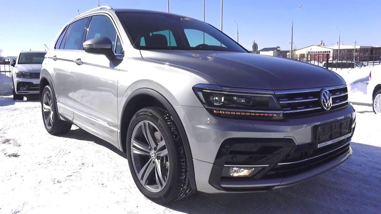 2018 Volkswagen Tiguan 2.0 TSI (180 л.с.) DSG 4Motion Sportline. Обзор.