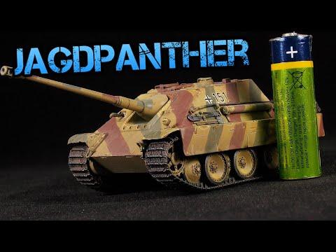 1/72 Sd.Kfz 173 Jagdpanther - Zvezda - Scale Model Tank Build