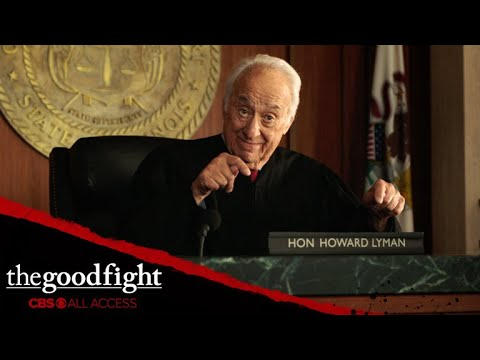 Diane's Former Partner Howard Lyman Takes A Seat On The Judge's Bench