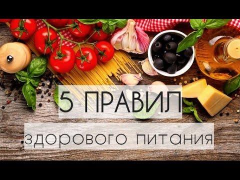 14 основных правил правильного питания для похудения
