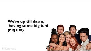 Riverdale 3x16 - Big Fun (Lyrics) (Full Version)