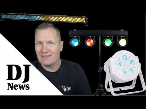 #ADJ Uplighting Comparison WiFLY Bar RGBA, Dotz TPar System, 5P HEX Pearl: By the Disc Jockey News