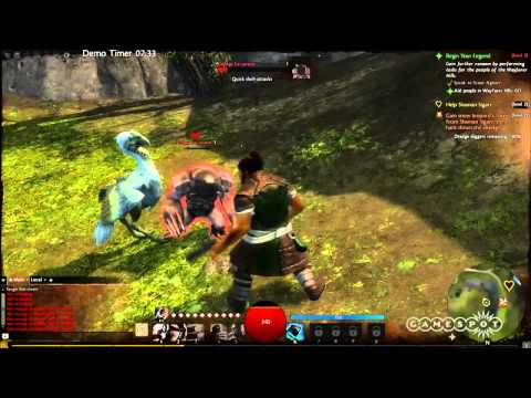 Guild Wars 2 - Norn/Thief Shapeshifter [HD]