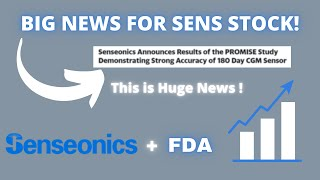 SENSONICS HOLDINGS INC SENS STOCK CHART ANALYSIS   WHY IT IS FLYING HIGHER ! FDA APPROVAL? 🚀💰