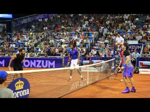 26th Konzum Croatia Open Umag - Highlights of the day - 22.07.2015