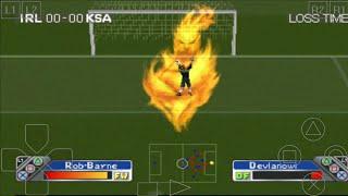 SAUDI ARABIA vs IRELAND - Super Shot Soccer - ePSXe Android Gameplay