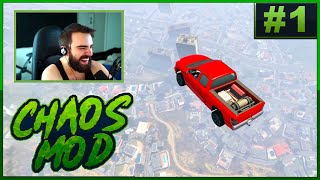 GTA V Chaos Mod! #1  Everything Is Possible (Random Effect Every 30 Seconds)