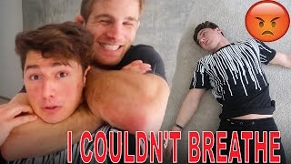I GOT CHOKED OUT BY A BLACK BELT (UNCONSCIOUS) thumbnail