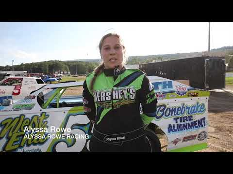 "Alyssa Rowe teams up with Bedford Speedway for a ""#DrugFree"" mission!"