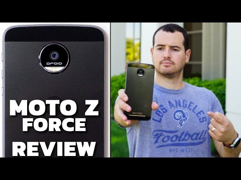 Moto Z Force Review (Spoiler: It's Awesome!)