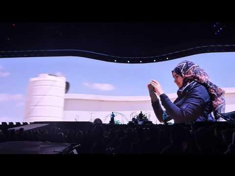 U2 - Miss Sarajevo [Passengers song] (Dallas 05.26.17) HD