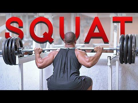 Squat | MUSCULATION des Quadriceps Cuisses et Fesses