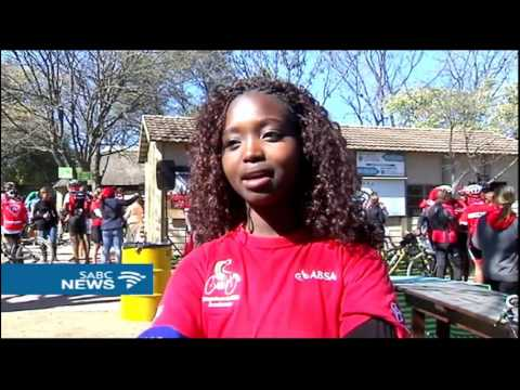 Over 350 cyclists take a ride in honour of Gugu Zulu