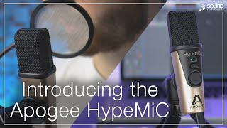Introducing Apogee HypeMic | High Quality USB Mic for Musicians, Voice Over, Podcasters & Streamers
