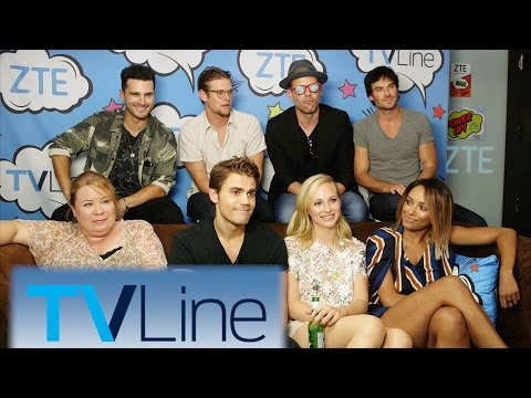 Vampire Diaries Last-Ever Comic-Con Interview  | TVLine Studio Presented By ZTE | Comic-Con 2016