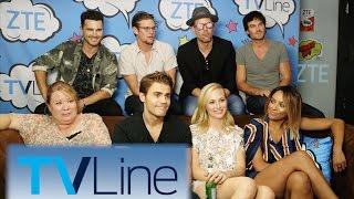 Vampire Diaries Last-Ever Comic-Con Interview  | TVLine Studio Presented by ZTE | Comic-Con 2016