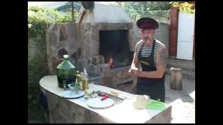 Мужская кухня  Кулиш на костре