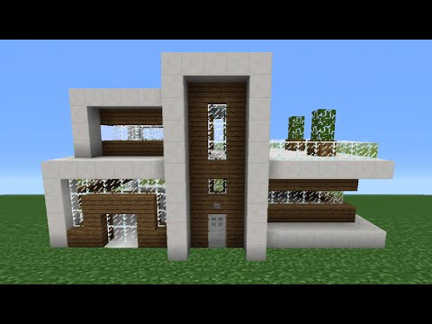 Minecraft Tutorial: How To Make A Quartz House - 7