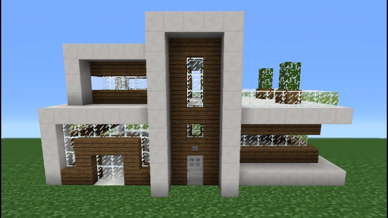 how to make a modern house in minecraft tsmc