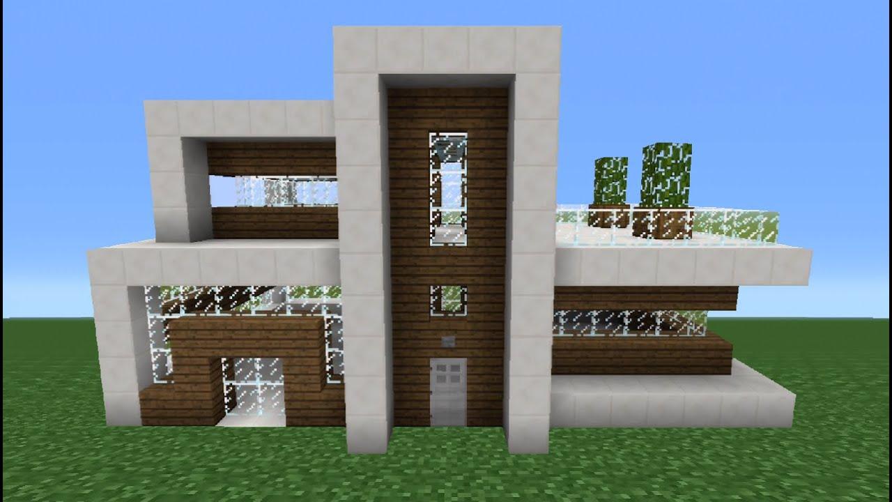 Minecraft Tutorial How To Make A Quartz House 7 YouTube