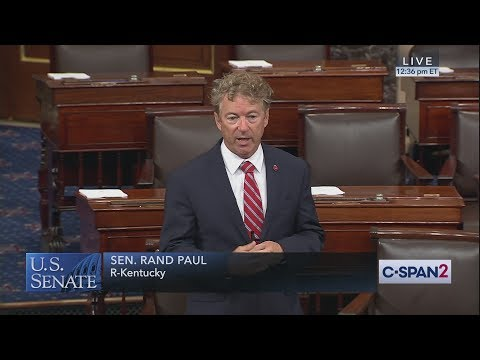 Sen. Rand Paul blocks Senate vote for 9/11 Victim Compensation Fund