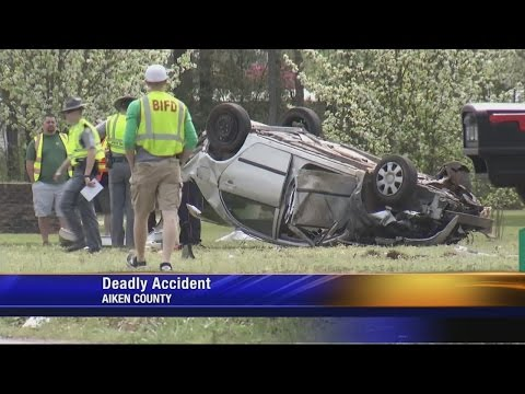 Driver Killed In Aiken County Crash Identified, Alcohol Found In The Vehicle