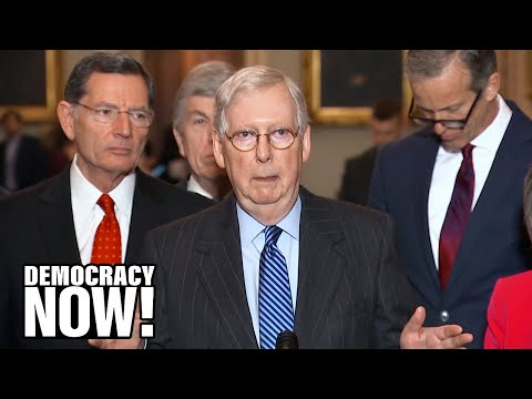 A Show Trial? As Trump Impeachment Trial Begins, Mitch McConnell Accused of Staging a Cover-Up - 동영상