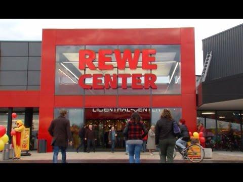 Eröffnung REWE CENTER Mannheim Sandhofen